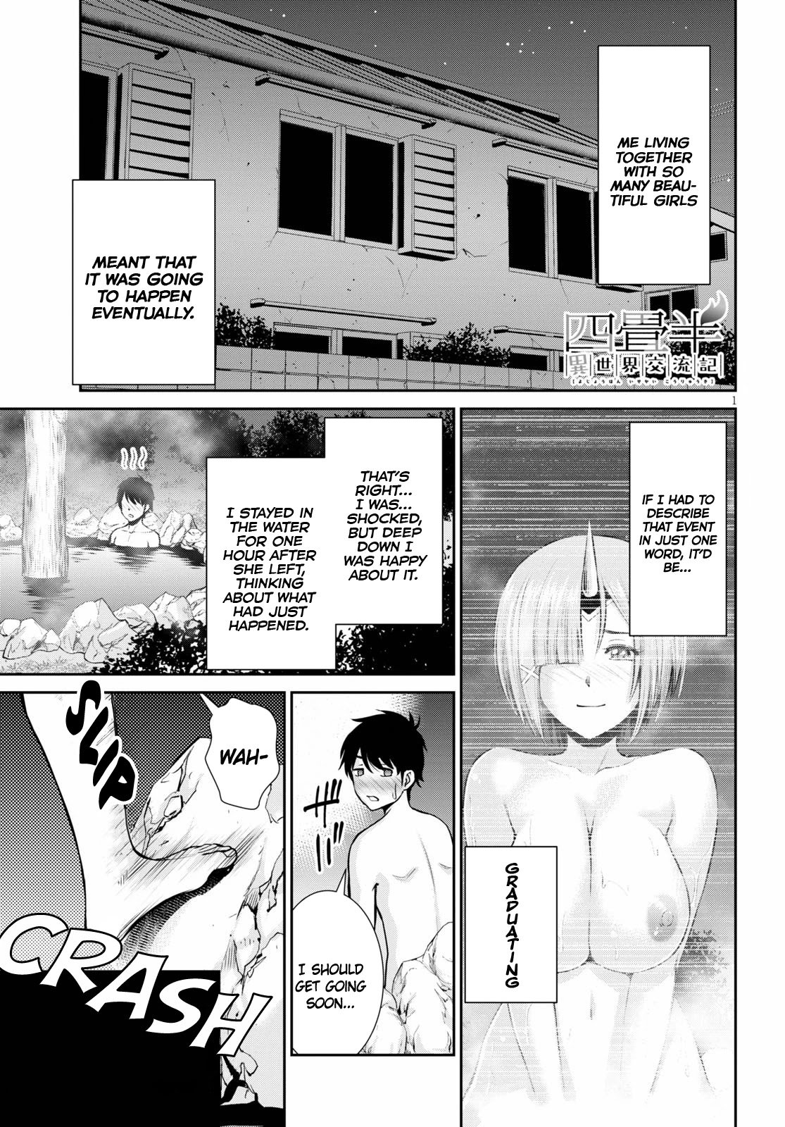 4.5 Tatami Mat Alternate World Cultural Exchange Chronicles Chapter 12 page 1