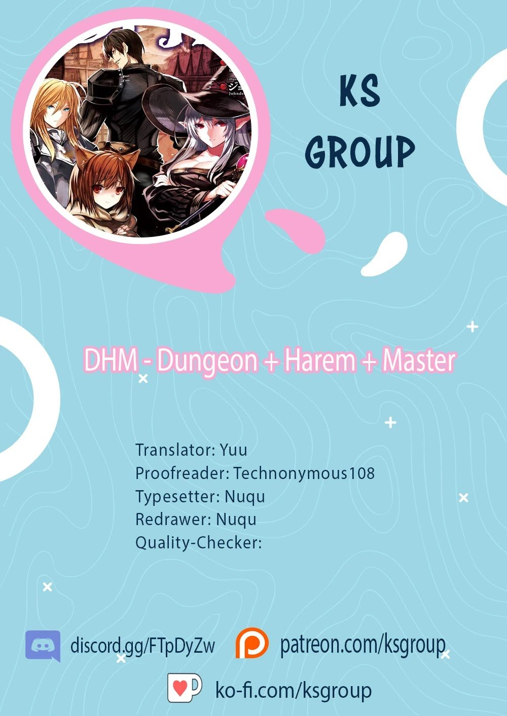 Dhm – Dungeon + Harem + Master Chapter 3 page 1