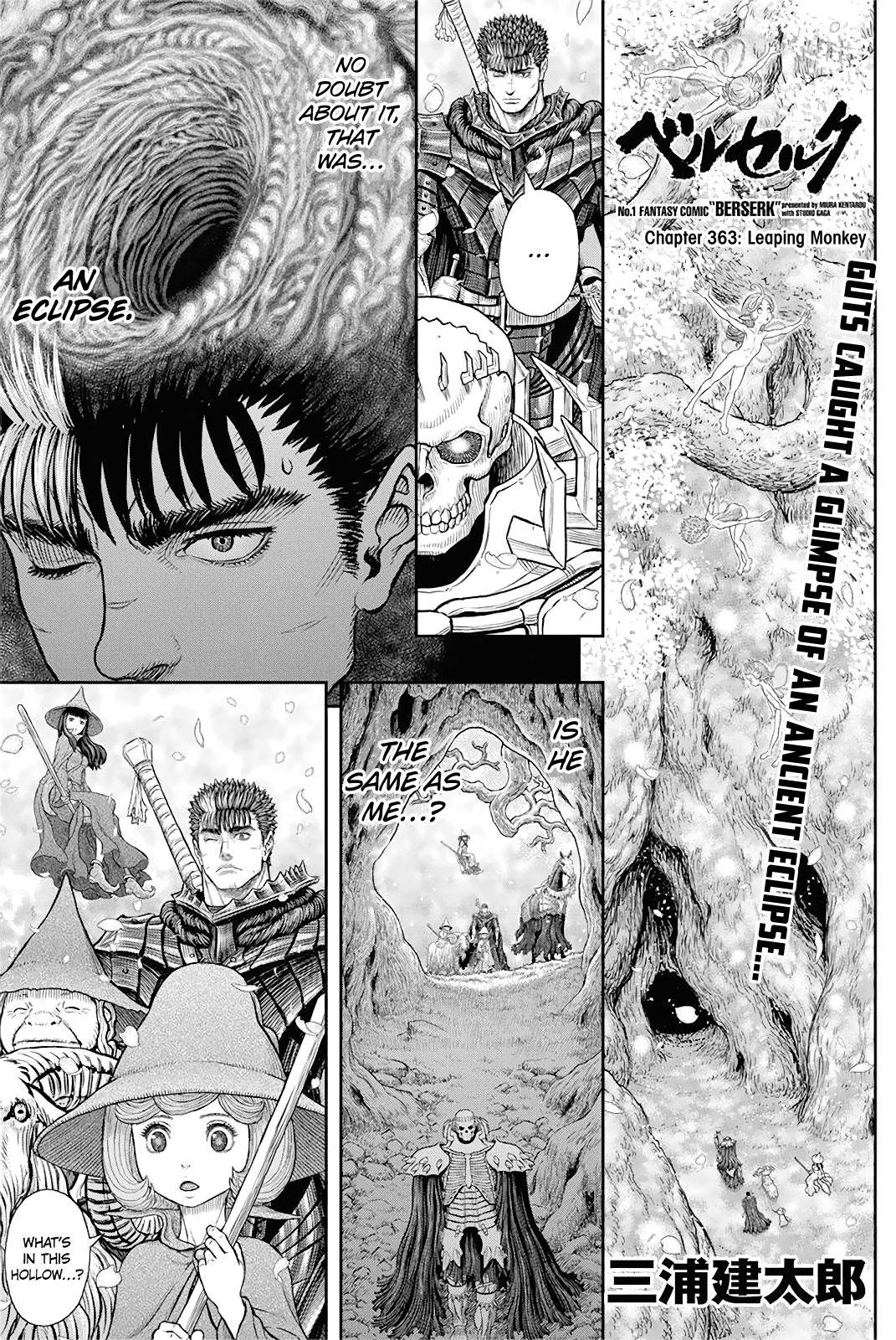 Berserk Chapter 363 page 1